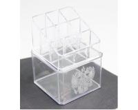 Акриловый органайзер для косметики Cosmetic Storage Box для нанесения логотипа