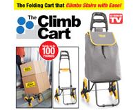 Climb Cart складная тележка которая легко преодолевает препятствия