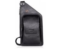 Jeep Buluo Мужская сумка через плече, цвет: черный