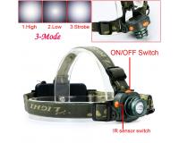 Сенсорный светодиодный фонарь аккумуляторный Поиск P-6614
