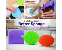 Набор щеток-губок силиконовых универсальных Better Sponge 3 шт