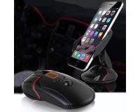 Автомобильный держатель для телефона универсальный в виде мышки, черный