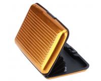 Кейс для кредитных карт Security Credit Card Wallet (Цвет: Золотой)