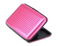 Кейс для кредитных карт Security Credit Card Wallet (Цвет: Розовый)