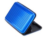 Кейс для кредитных карт Security Credit Card Wallet (Цвет: Синий)