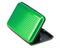 Кейс для кредитных карт Security Credit Card Wallet (Цвет: Зеленый)