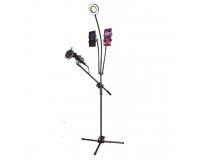 Микрофонная стойка напольная Professional Microphone Stand
