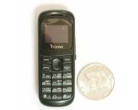 Мини телефон CocoBier C001 (черный)