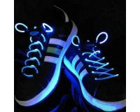 Светящиеся Шнурки С LED Подсветкой, Синие, 2 шт