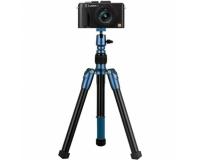 Телескопический монопод-штатив MOMAX Tripod Hero 25-140 см. для камер/смартфонов черный/синий TRS7
