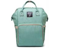 Умный рюкзак для мам Maitedi светло-зеленый