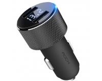 Автомобильное зарядное устройство Rock Sitor Car Charger 2 USB 2.4 A, черный