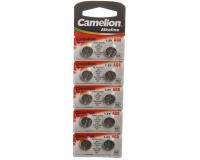 Батарейка алкалиновая Camelion AG8-10BL 1.5V