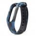 Сменный силиконовый ремешок для Фитнес-Браслета Xiaomi Mi Band 2 камуфляж синий