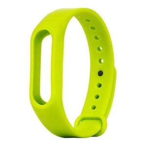 Сменный силиконовый ремешок для Фитнес-Браслета Xiaomi Mi Band 2 зеленый