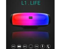 Портативная Bluetooth колонка SODO L1 life черный