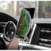 Универсальный автомобильный держатель Hoco CA42A с функцией автоматической фиксации телефона и беспроводной зарядки
