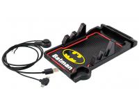 Гибкий коврик держатель с картой парковки Car Holder Batman + кабель для подзарядки