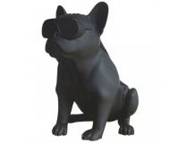 Колонка эстетическая French Bulldog Wireless Bluetooth Speaker, Black