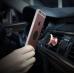 Автомобильный магнитный держатель в воздуховод для смартфона Magnetic Car Air Vent, розовое золото