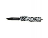 Нож автоматический Benchmade Winter Pix (Зимний Пиксель)