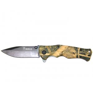 Нож складной Boker B048, камуфляж лес