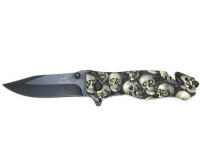 Нож выкидной Gerber Черепа
