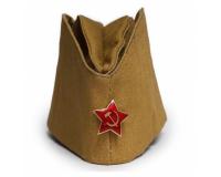 Солдатская пилотка (армейская) образца СССР, размер 55