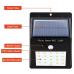 Светодиодный Фонарь на солнечной батарее SOLAR POWERED LED-802 с датчиком движения