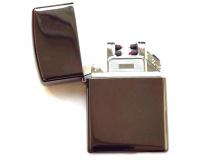 Зажигалка электроимпульсная USB Lighter Eagle Dark brown metallic