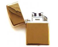 Зажигалка электроимпульсная USB Lighter Eagle Gold