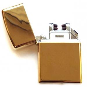 Электроимпульсная Зажигалка JINLUN USB Lighter - Eagle Gold