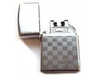 Зажигалка электроимпульсная USB Lighter Eagle Silver