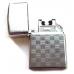Электроимпульсная Зажигалка JINLUN USB Lighter - Eagle Silver