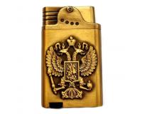 Зажигалка газовая турбо Xintai Lighter «Двуглавый орел»