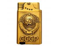 Зажигалка газовая турбо Xintai Lighter «Герб СССР»