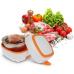 Ланч-бокс с подогревом Electric Lunch Box оранжевый