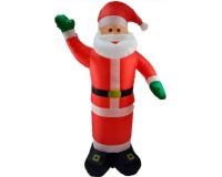 """Надувная 3D фигура с подсветкой """"Дед Мороз"""" 210 см с встроенным компрессором"""