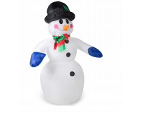"""Надувная 3D фигура """"Снеговик с шарфом"""" 180 см с встроенным компрессором"""