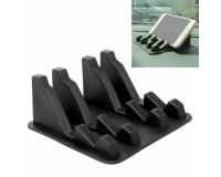 Автомобильный держатель коврик Mobile Phone Mobile Rack, черный