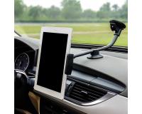 Автомобильный держатель на длинной штанге для планшета (20 см)