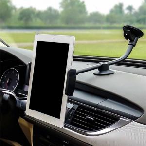 Длинный автомобильный держатель для планшетов на присоске (20 см)