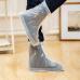 Защитные многоразовые чехлы пончи с подошвой для обуви от дождя и грязи размер L (Белый)