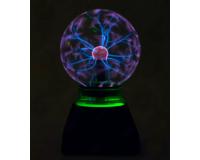 Электрический плазменный шар Тесла (D - 12см) Green
