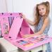 Набор Юного художника для рисования Super Mega Art Set 208 предметов с мольбертом, розовый