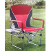 Кресло складное туристическое со столиком Director's Chair 83х50х93см, красный