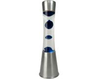 Лава-лампа 39см CG-S Синяя/Прозрачная (Воск)