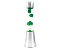 Лава-лампа 39см CG-S Зеленая/Прозрачная (Воск)