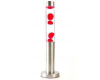 Лава-лампа 47см Красная/Прозрачная (Воск)