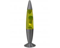 Лава-лампа 48см Зелёная/желтая (Воск)